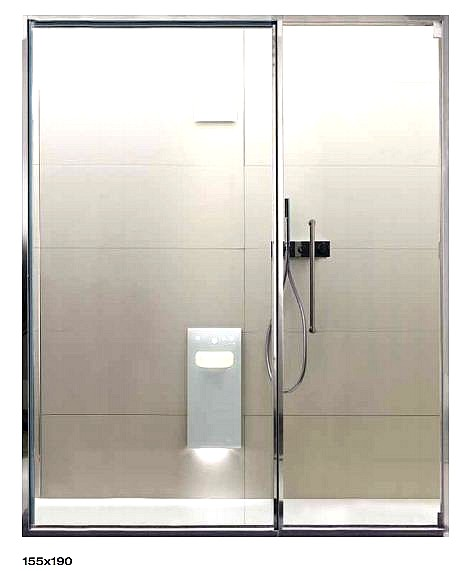 Douche italienne dimension standard d licieux taille for Douche a l italienne dimension