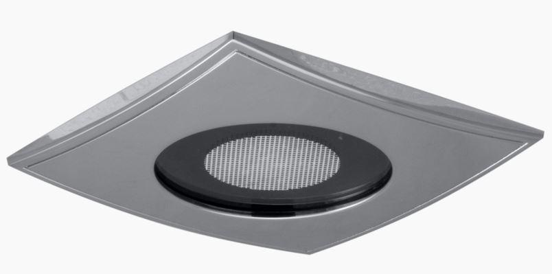Kit éclairage BLANC-SRC - carré - 10x10 cm
