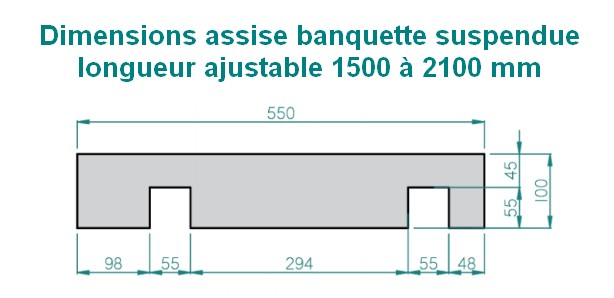 banquette-suspendue