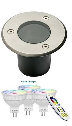 KIT CHROMO - spots couleur + blancs - 100 mm