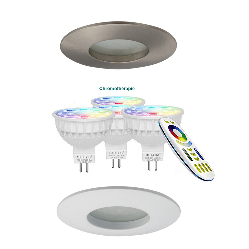 SPOT leds SRM-Diam. 85mm-Blanc option couleur