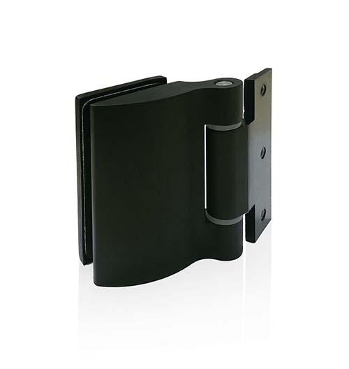 Charnière metal black pour porte premium black