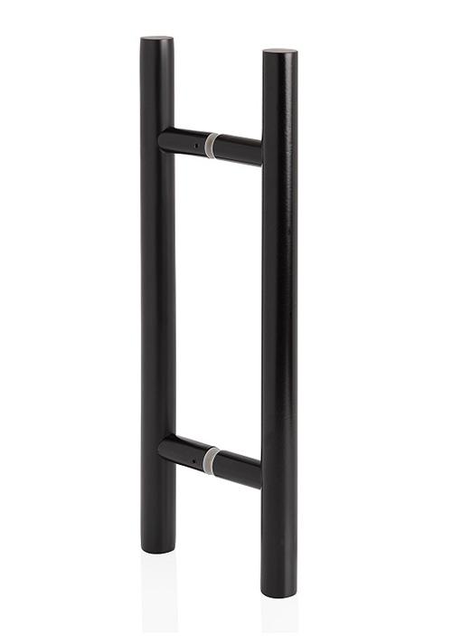 Poignée Métal Black pour porte premium black