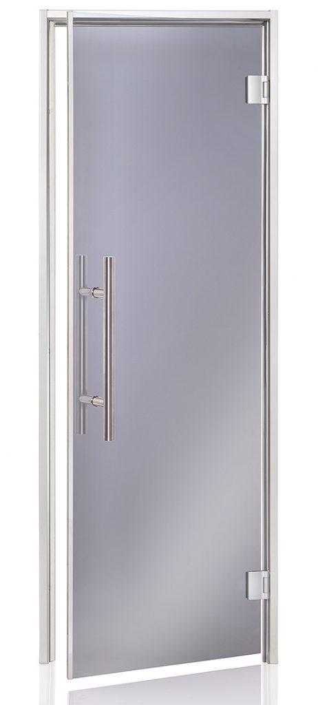 Porte premium fumée gris