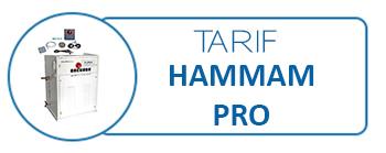 Tarif hammam PRO
